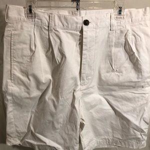 Brooks brothers khaki shorts white size 34
